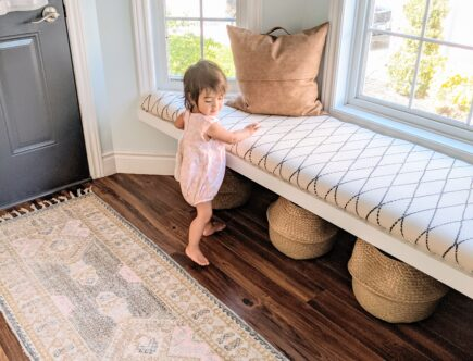 entryway foyer upholstered bench